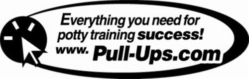 EVERYTHING YOU NEED FOR POTTY TRAINING SUCCESS! WWW.PULL-UPS.COM