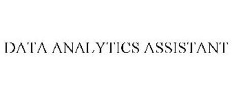 DATA ANALYTICS ASSISTANT