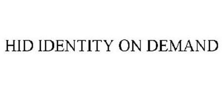 HID IDENTITY ON DEMAND