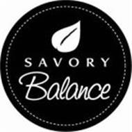 SAVORY BALANCE