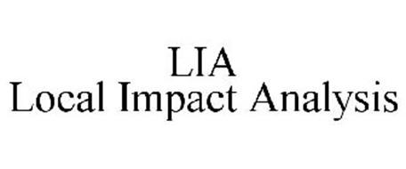 LIA LOCAL IMPACT ANALYSIS