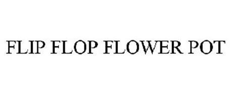 FLIP FLOP FLOWER POT