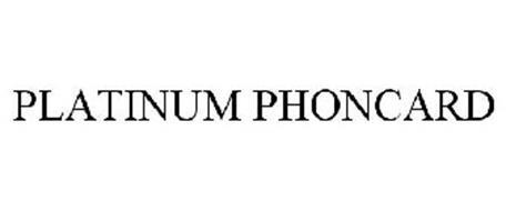 PLATINUM PHONCARD