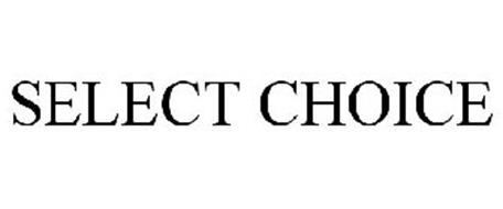 SELECT CHOICE