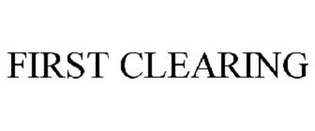 FIRST CLEARING