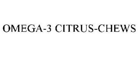 OMEGA-3 CITRUS-CHEWS