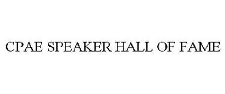 CPAE SPEAKER HALL OF FAME