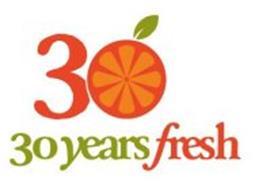 30 YEARS FRESH