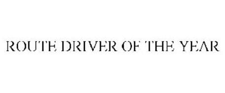 ROUTE DRIVER OF THE YEAR