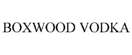 BOXWOOD VODKA