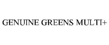GENUINE GREENS MULTI+