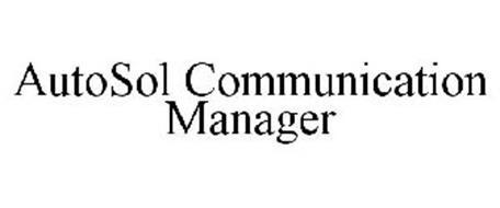 AUTOSOL COMMUNICATION MANAGER
