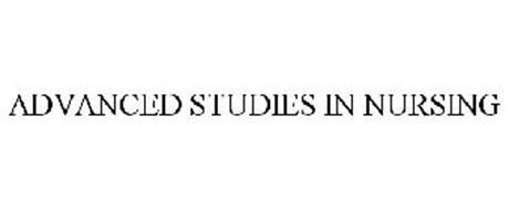 ADVANCED STUDIES IN NURSING