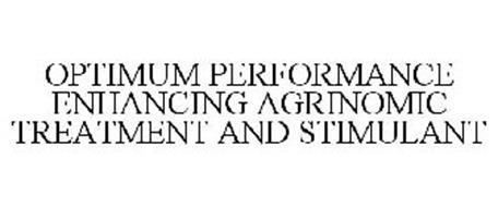 OPTIMUM PERFORMANCE ENHANCING AGRINOMIC TREATMENT AND STIMULANT