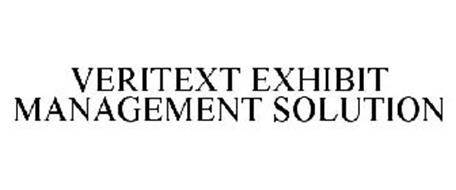 VERITEXT EXHIBIT MANAGEMENT SOLUTION