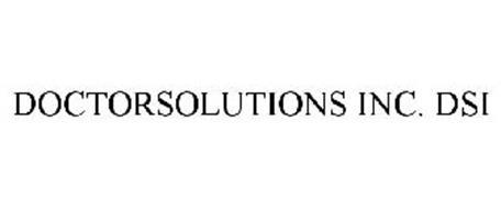 DOCTORSOLUTIONS INC. DSI