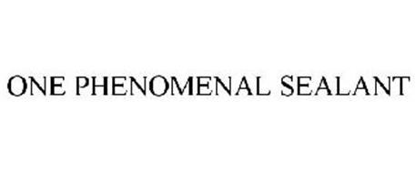 ONE PHENOMENAL SEALANT