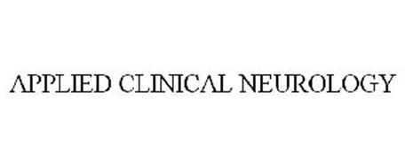 APPLIED CLINICAL NEUROLOGY