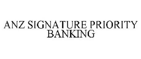 ANZ SIGNATURE PRIORITY BANKING