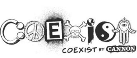 COEXIST BY CANNON