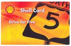 SHELL CARD DRIVE FOR FIVE