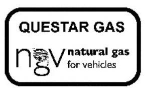 QUESTAR GAS NGV NATURAL GAS FOR VEHICLES