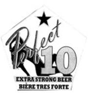 PERFECT 10 EXTRA STRONG BEER BIÈRE TRES FORTE