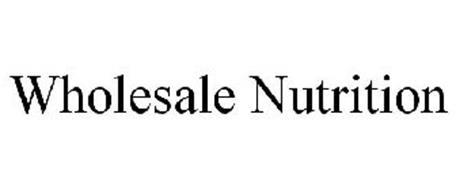 WHOLESALE NUTRITION