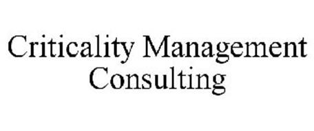 CRITICALITY MANAGEMENT CONSULTING
