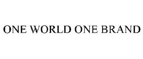 ONE WORLD ONE BRAND