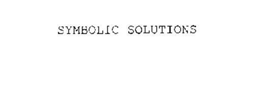 SYMBOLIC SOLUTIONS