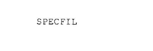 SPECFIL