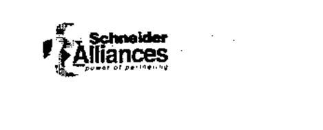 SCHNEIDER ALLIANCES POWER OF PARTNERING