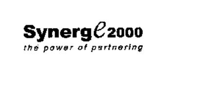 SYNERGE 2000 THE POWER OF PARTNERING