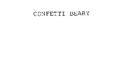 CONFETTI BEARY
