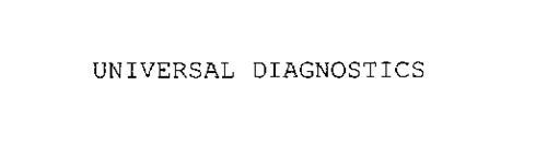 UNIVERSAL DIAGNOSTICS