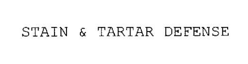 STAIN & TARTAR DEFENSE