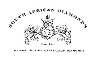 SOUTH AFRICAN DIAMONDS - SINCE 1872 - THE WORLD'S MOST CELEBRATED DIAMONDS