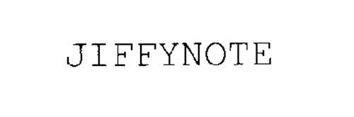 JIFFYNOTE