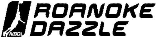 ROANOKE DAZZLE AND NBDL LOGO