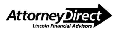 ATTORNEYDIRECT LINCOLN FINANCIAL ADVISORS