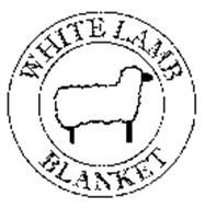 WHITE LAMB BLANKET