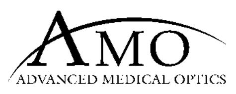 AMO ADVANCED MEDICAL OPTICS