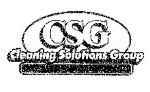 CSG CLEANING SOLUTIONS GROUP