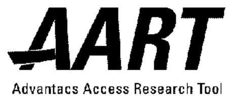 AART ADVANTACS ACCESS RESEARCH TOOL