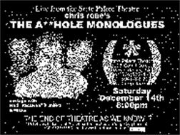 THE A HOLE MONOLOGUES