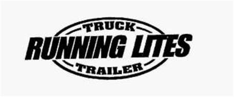 TRUCK RUNNING LITES TRAILER