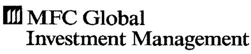 MFC GLOBAL INVESTMENT MANAGEMENT
