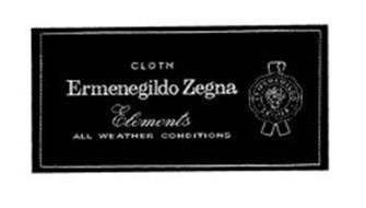 CLOTH ERMENEGILDO ZEGNA ELEMENTS ALL WEATHER CONDITIONS
