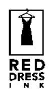 RED DRESS I N K